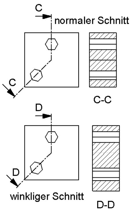 technisches zeichnen schnitt winkliger schnitt ds solidworks solidworks foren auf