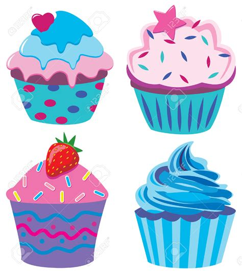 free cupcake clipart vanilla cupcake clipart pencil and in color