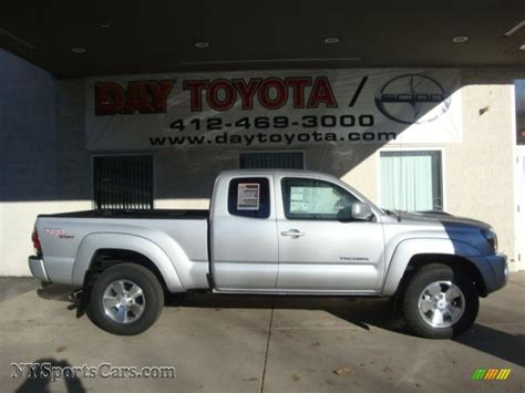 2011 Toyota Tacoma Access Cab 4x4 For Sale 2011 Toyota Tacoma V6 Trd Sport Access Cab 4x4 In Silver