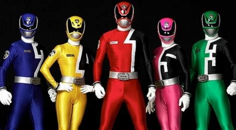 Baju Anak Kostum Power Ranger transformasi kostum warna warni power rangers bintang