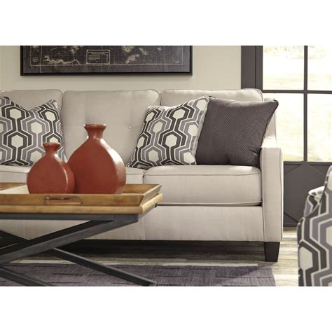 ashley furniture coil sofa reviews benchcraft by ashley guillerno contemporary sofa with coil