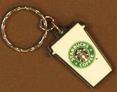 Keychain Barista Starbucks stuff you might find at the starbucks partner store or might not find starbucksmelody