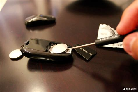 Tesla Key Fob How To Replace The Tesla Key Fob Battery