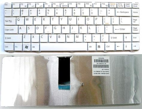 Keyboard Laptop For Sony Vgn Fw Series White sony vgn cw series laptop keyboard white