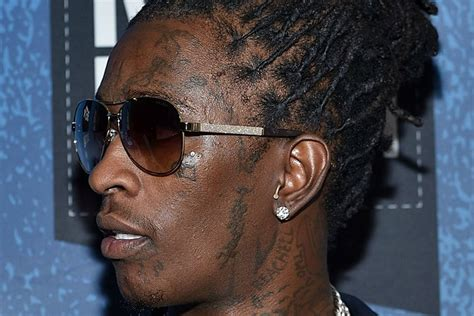 young thug face tattoo students pissed after thug misses homecoming concert