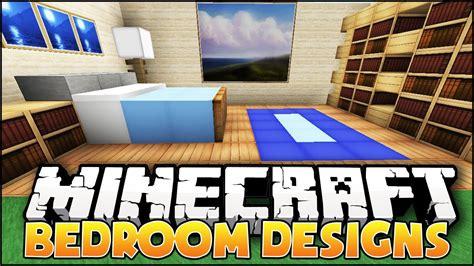 minecraft bedroom designs ideas youtube