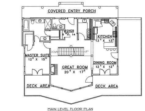 garage under house floor plans mountain home plan with drive under garage 35313gh 1st