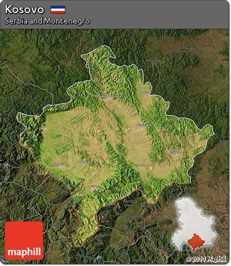 maps kosovo satellite free satellite map of kosovo darken