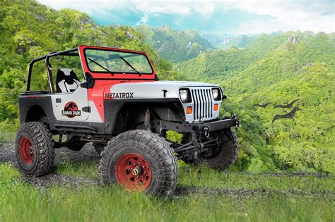 jurassic jeep jurassic jeep transportation in photography on the
