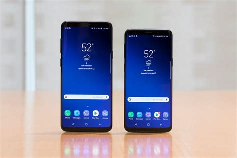 Samsung Galaxy S9 Plus samsung galaxy s9 and s9 plus with 128gb and 256gb