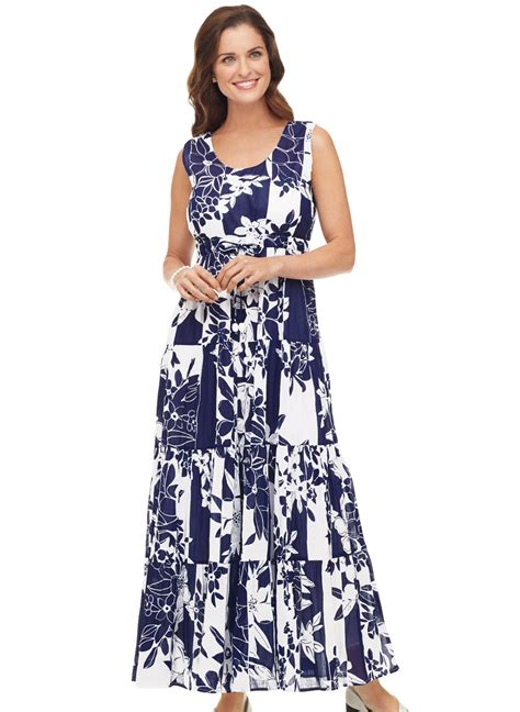 Dress Al Fashion Sabila Maxi 100 cotton maxi dress carolwrightgifts