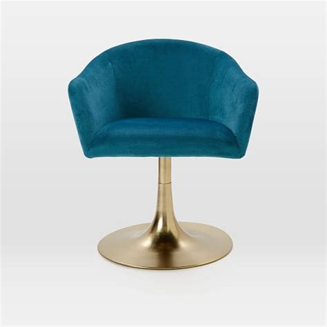 West Elm Swivel Desk Chair by Best 20 Upholstered Swivel Chairs Ideas On