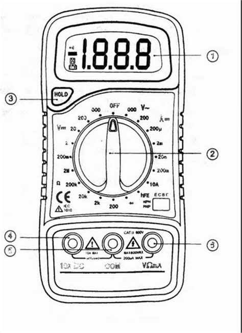 how to test resistor with multimeter pdf usefulldata manual guide multimeter xl830l with pdf