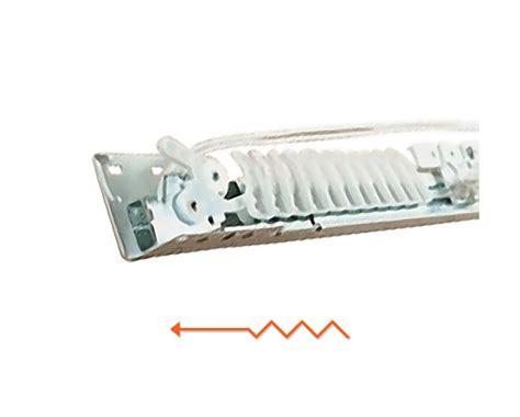 traverse curtain rod parts kirsch superfine 100 180 inch traverse curtain rod one way