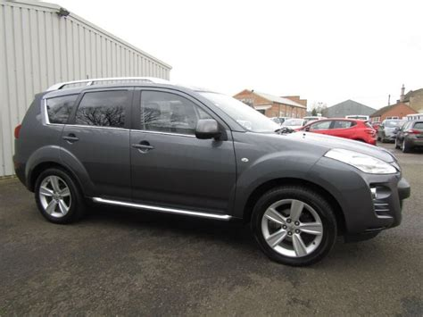 peugeot 4wd peugeot 4007 2 2 hdi gt 4wd 5dr diesel 7 seat for sale