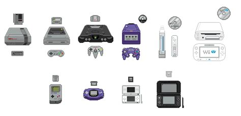 every nintendo console image gallery nintendo consoles