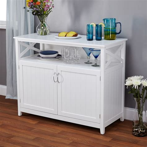 white buffet southport antique white beadboard buffet furniture storage