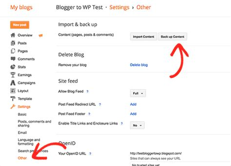 blogger delete blog how to switch from blogger to wordpress without losing