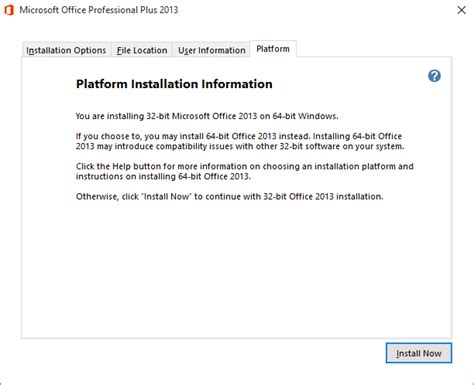 visio 2013 64 bit should i install the 32 bit or 64 bit version of office