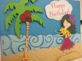 Handmade In Hawaii - card invitation design ideas hawaiian themed card