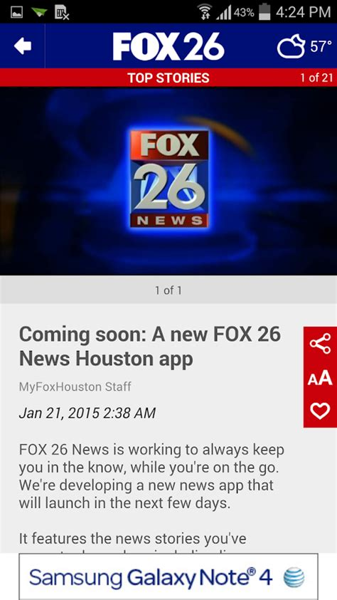 fox news app for android fox 26 news android apps on play