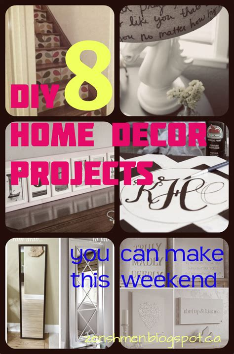 5 home decor essentials you need the diy mommy zen shmen 8 diy home decor projects you can make this