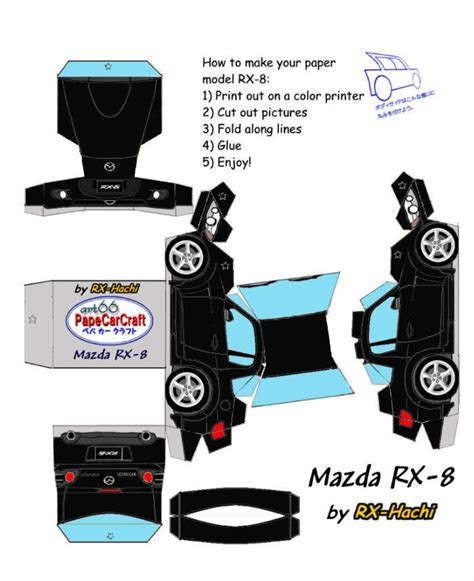 The Paper Craft Model RX 8 RX8Club.com