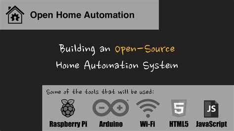 building an open source home automation system