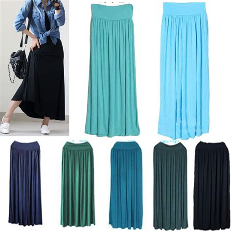high waisted maxi skirt 2014 2015 fashion trends