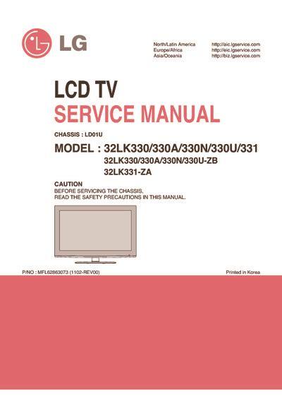 lg lk chassis ldu service manual repair schematics