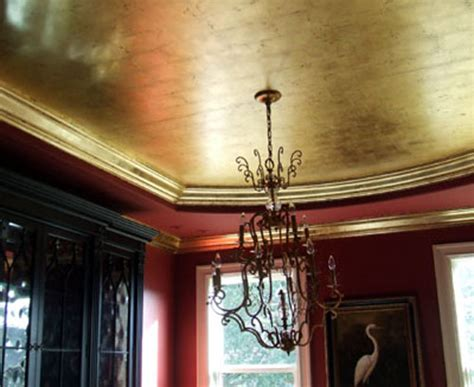 gold leaf ceiling 171 ceiling systems