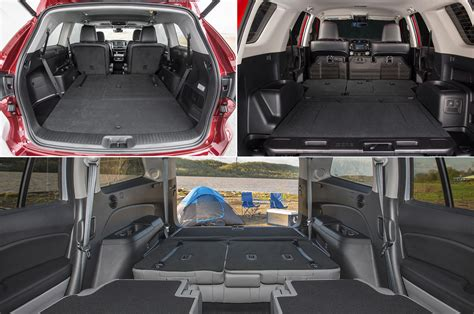 best cargo room suv mid size suv with most cargo space autos post