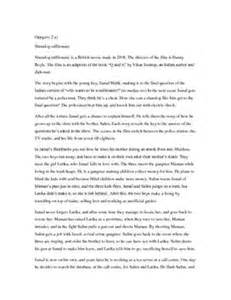 Slumdog Millionaire Essay Notes by Slumdog Millionaire Salim Malik Characterization Essay Essay For You