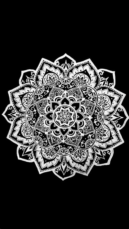 black and white henna wallpaper las 25 mejores ideas sobre wallpaper mandala en pinterest