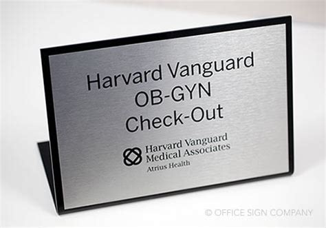 check in desk sign interior office signs desk name plates standing check