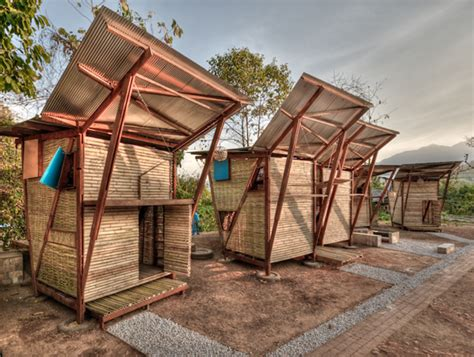 Small House Designs Thailand Small Iron Wood Prefab Houses With Butterfly Roof In