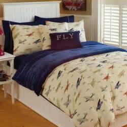 thro vintage airplanes bedding collection airplane
