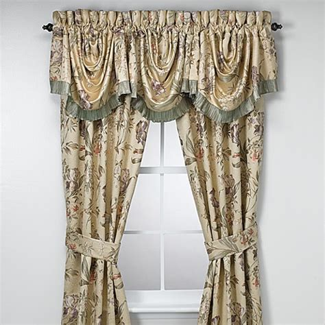 croscill curtains discontinued croscill 174 window curtain panel pair and valance bed bath