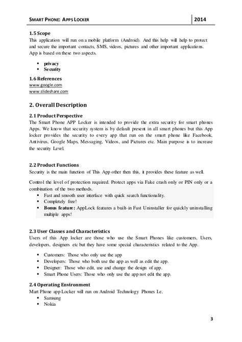 srs document template srs document