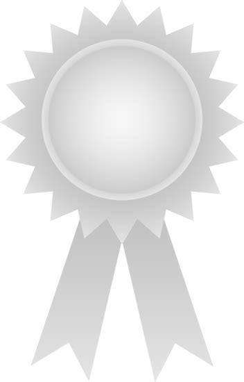 Silver Award Ribbon - Free Clip Art