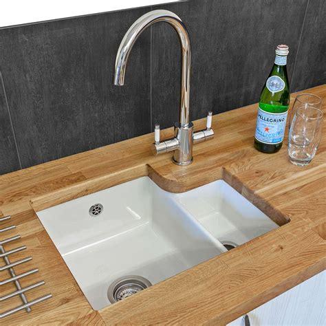 Ceramic Undermount Sink by Reginox Tuscany Ceramic Sink And Genesis Tap Pack