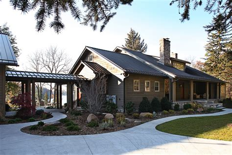 Small Cottage House Plans Dunham Lake House Addition Amp Remodel