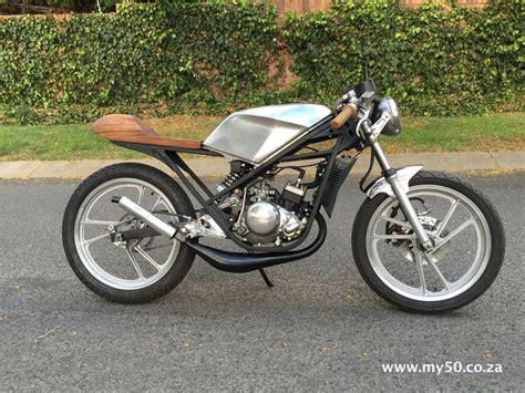 Suzuki Racer Suzuki Rg 50 Cafe Racer Custom By Brent Carpenter Www