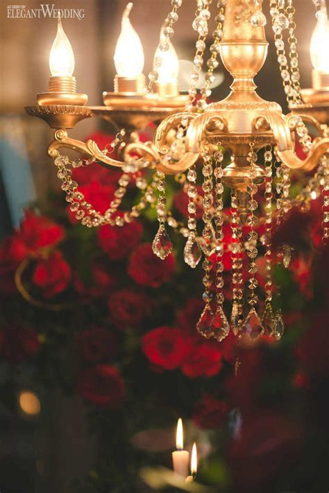 Rich Red and Gold Wedding Ideas   ElegantWedding.ca