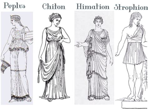 Grecian Draped Dress Clothes And Crafts In Ancient Greece