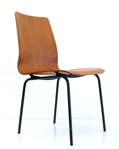 Plywood Chairs by Gispen And Cordemeijer Plywood Sixties Chairs