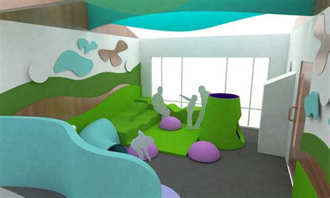Play Interior Design For Free by Design Healthcare Interior And Play Area For