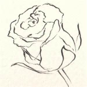 Single Rose Bud Vase The Art Of Drawing Flowers Bloglet Com