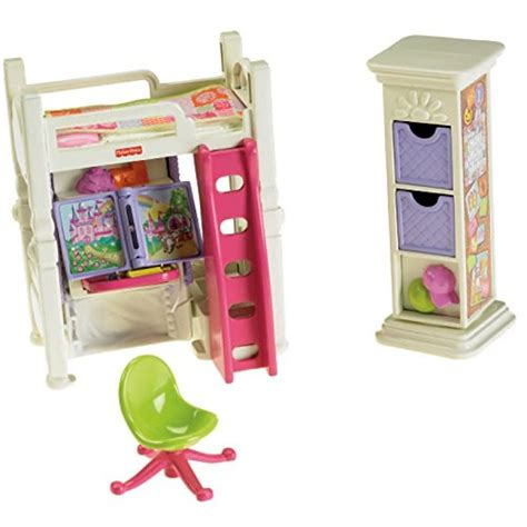 fisher price loving family deluxe decor bedroom