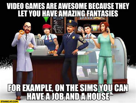 The Sims Memes - the sims memes starecat com